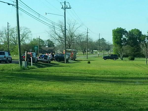 Two to Three vehicle Wreck on Napier Field Road