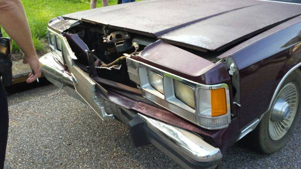Two Vehicle Wreck on Fortner Street at Haisten