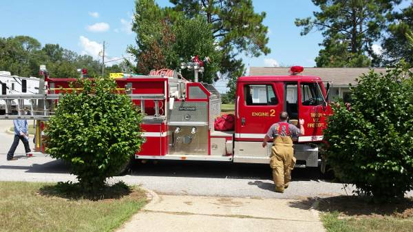 Structure Fire Reported at 100 Periwinkle Court