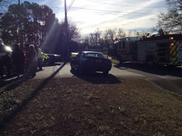 Motor Vehicle Accident On Cottonwood Road
