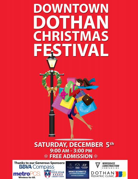 Forecast Calls For Snow This Saturday In Downtown Dothan