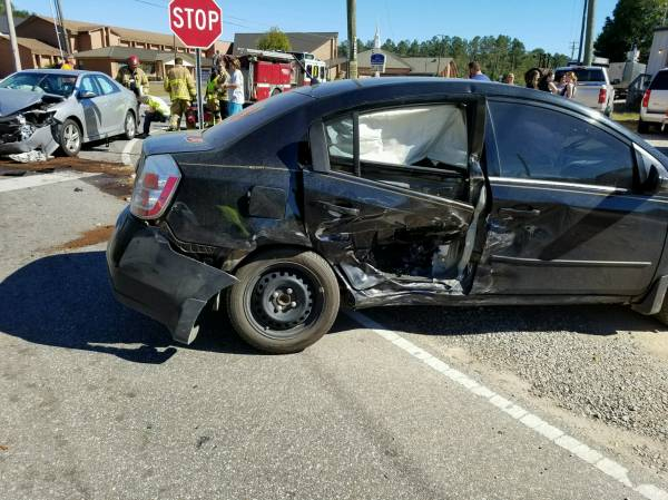 1 47 Pm Motor Vehicle Accident On Cottonwood Road At