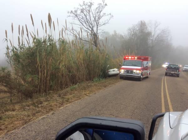 UPDATED @ 5:00 AM Wed  7:49 AM  Single Car Crash Geneva County Road
