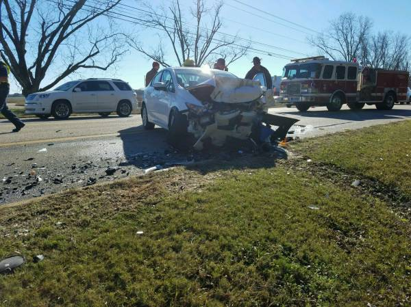 9:11 AM... Head-on Crash on Napier Field road