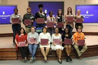 Sparks Campus holds PTK induction ceremony