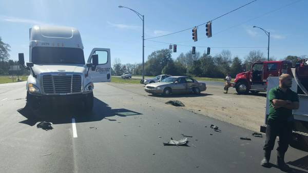 Motor Vehicle Accident and Semi Accident - Highway 231 South and State Line Road