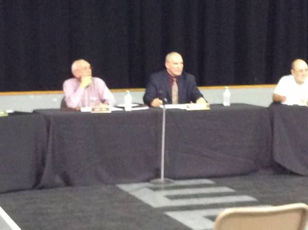 5:25 PM.   Houston County School Board Rejects Superintendent's Recomendation