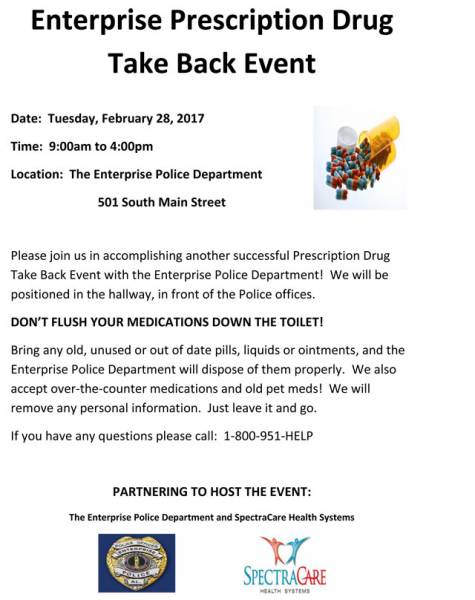 Enterprise Prescription Drug Take Back