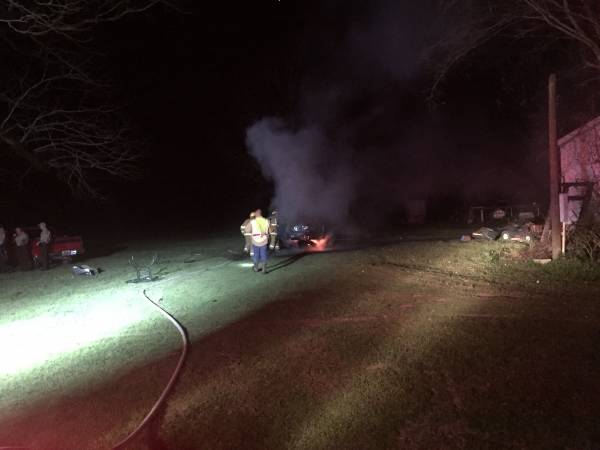 UPDATED @ 10:40 PM. 10:20 PM.   Structure Fire In Houston County Near Alabama - Florida Line