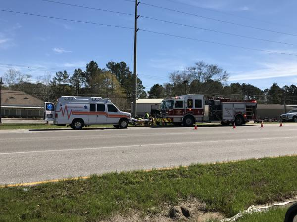 Motor Vehicle Accident Involving A Motorcycle In Dothan