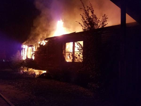 Early Morning House Fire  In Hodgesville