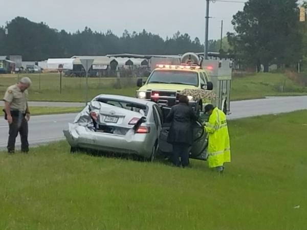 10:11 AM... Motor Vehicle Accident at US 231 at Hwy 109