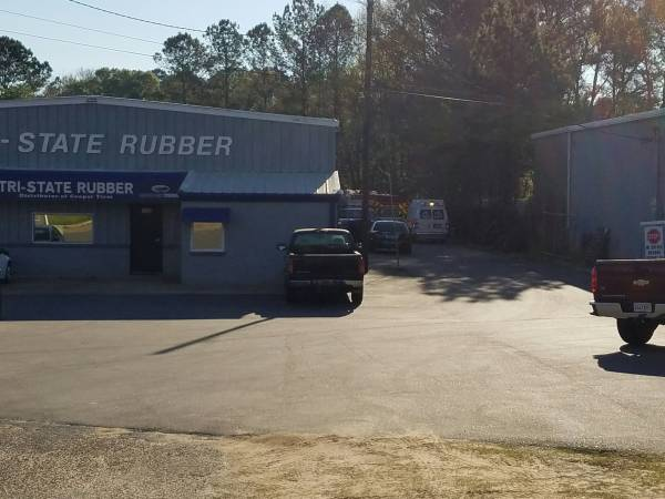 8:15 AM.. Dothan Fire Responds to Tri-State Rubber