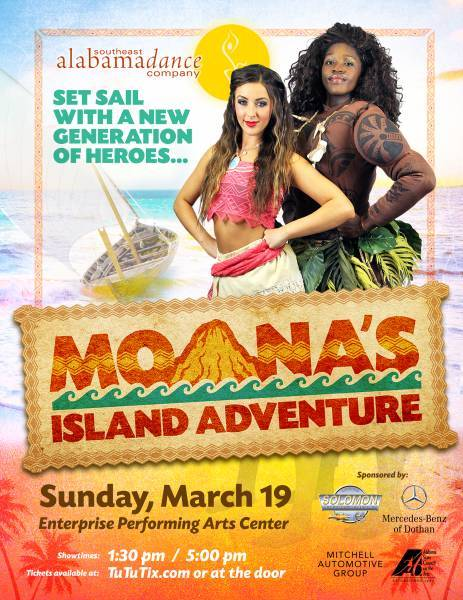 SEADAC Presents Monas Island Adventure