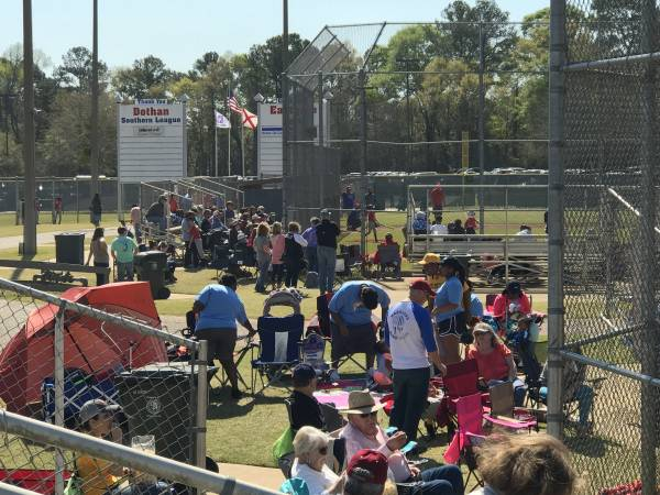 DIxie Youth Opening Ceremonies On Saturday