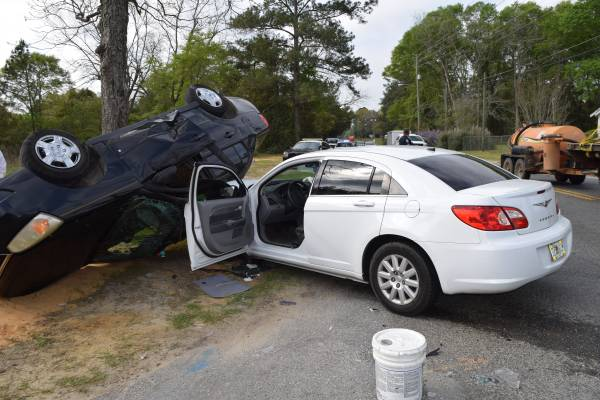 Traffic Crash with Entrapment in Marianna