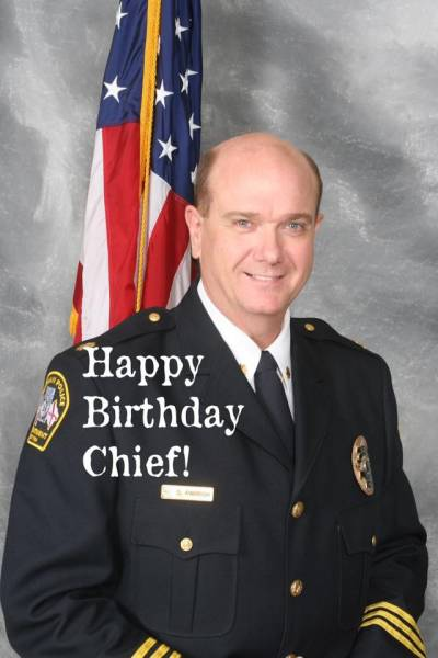Happy Birthday To Dothan Police Chief Steve Parrish