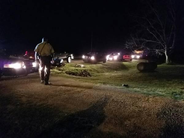 9:30 PM... Assault in Progress on Oscar Godwin Road