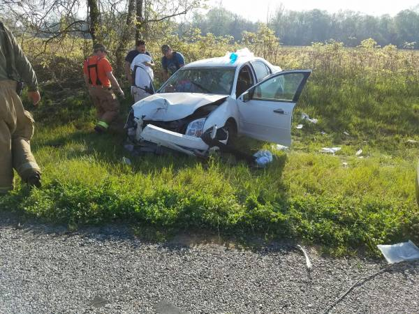 7:43 AM.  Motor Vehicle Accident With Entrappment In Dale County