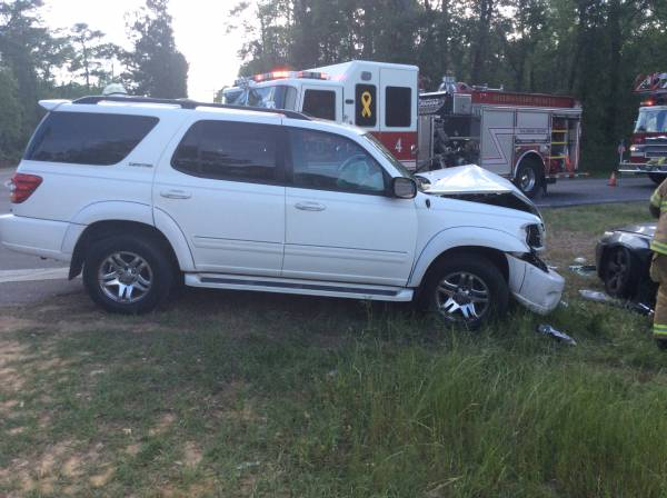 4:29 PM... T-Bone Accident Sends Two People to the Hospital