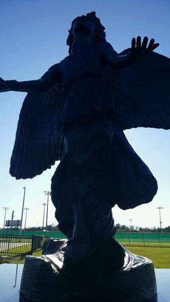 One Of The Most Beautiful Places To Visit In Dothan...The Angel Of Hope Statue