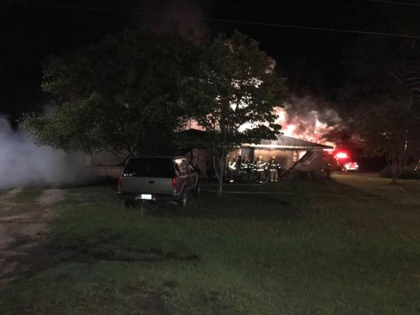 Early Morning Fire in Lucy Destroys Home