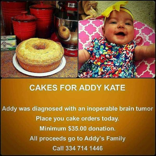 Cakes For Addy Kate White UPDATE