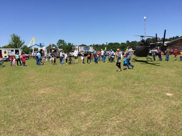 Touch A Truck At Landmark Park Over The Weekend