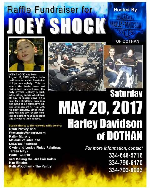 Benefit for Joey Shock