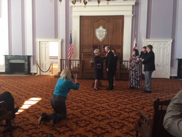 Kenneth Boswell Takes Oath As Member of Governor Kay Ivey's Cabinet