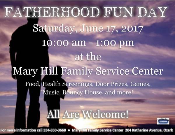 fatherhood fun day to be held in Ozark