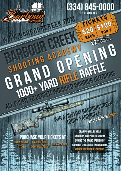 Barbour Creek Shooting Academy Grand Opening