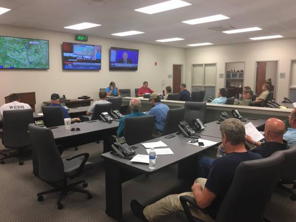 Volunteer Fire Chief's Meeting Hosted In New Emergency Operations Center