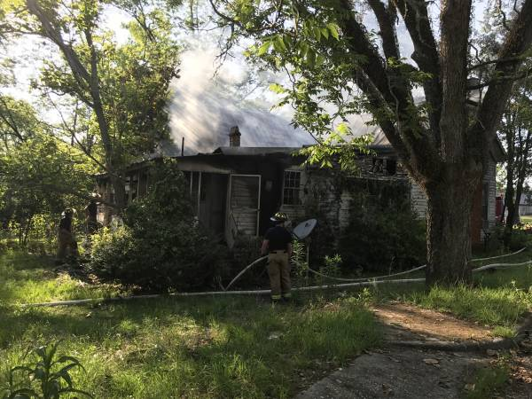 Up Dated with PicturesStructure  Fire in Ozark