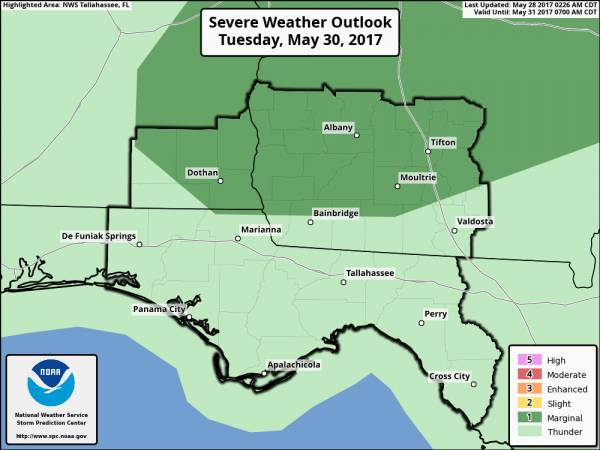 Strong to Severe Storms Possible Monday and Tuesday