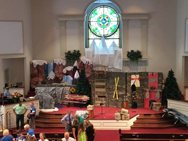 Operation Artic VBS at First Baptist Headland Begins Tonight