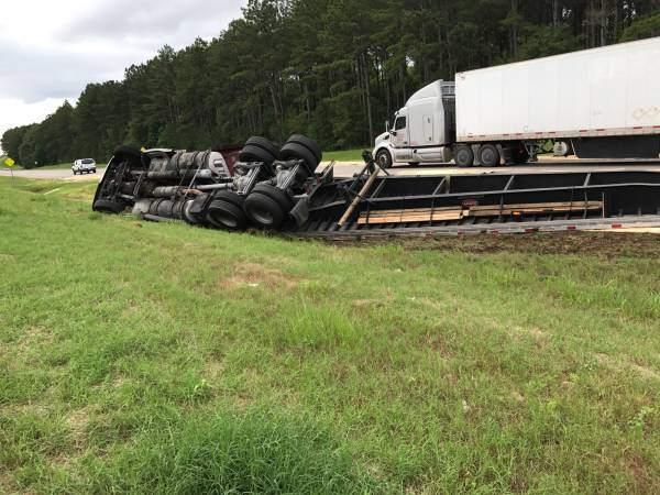 Motor Vehicle Accident on US 84 and Fire Tower Road