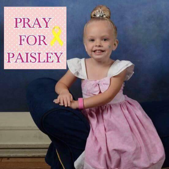 Prayers And Donations Needed For Paisley