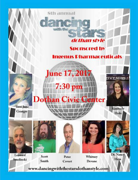The 8th Annual Dancing with the Stars- Dothan Style
