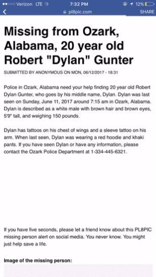 Missing Ozark Man has Been Located