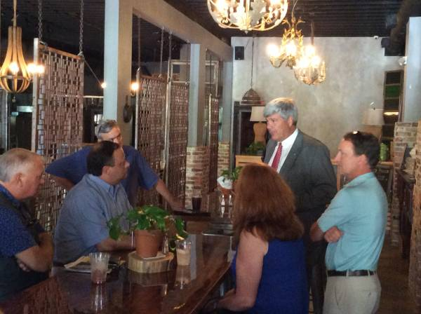 US Senate Candidate Tripp Pittman Stops in Dothan Today