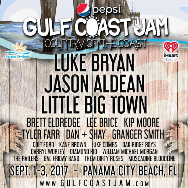 Brett Eldredge invites YOU to Pepsi Gulf Coast Jam!