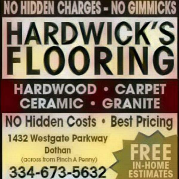 BEWARE..WHEN FLOORING ADVERTISERS PROMOTE FREE STUFF IS IT REALLY FREE? YOU DECIDE
