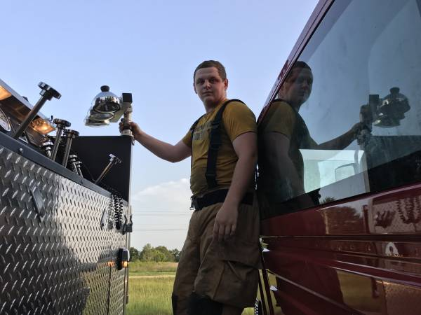 Wicksburg Trio Who Graduated From Cadets To Fireman - Came Through Like A Charm
