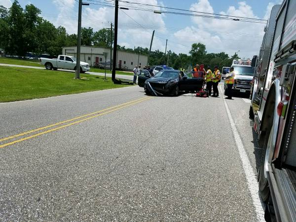 12:42 PM... Two Vehicle Accident on Saunders and Cottonwood Road