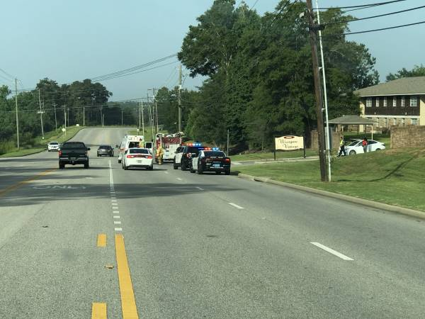 8:02 AM.  Pedestrian Struck By A Motor Vehicle