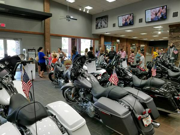Harley Davidson of Dothan Held Ribbon Cutting