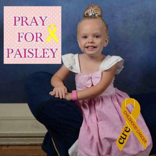 Prayers And Donations Needed For Paisley Corbitt