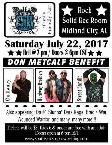 Southeastern Pro Wrestling Coming to Midland City