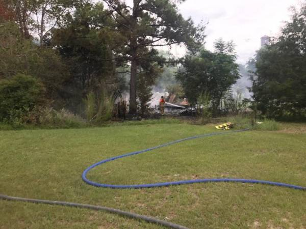 Another Suspicious Structure Fire in Gordon